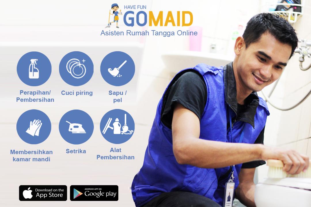 GoMaid pembantu rumah tangga online