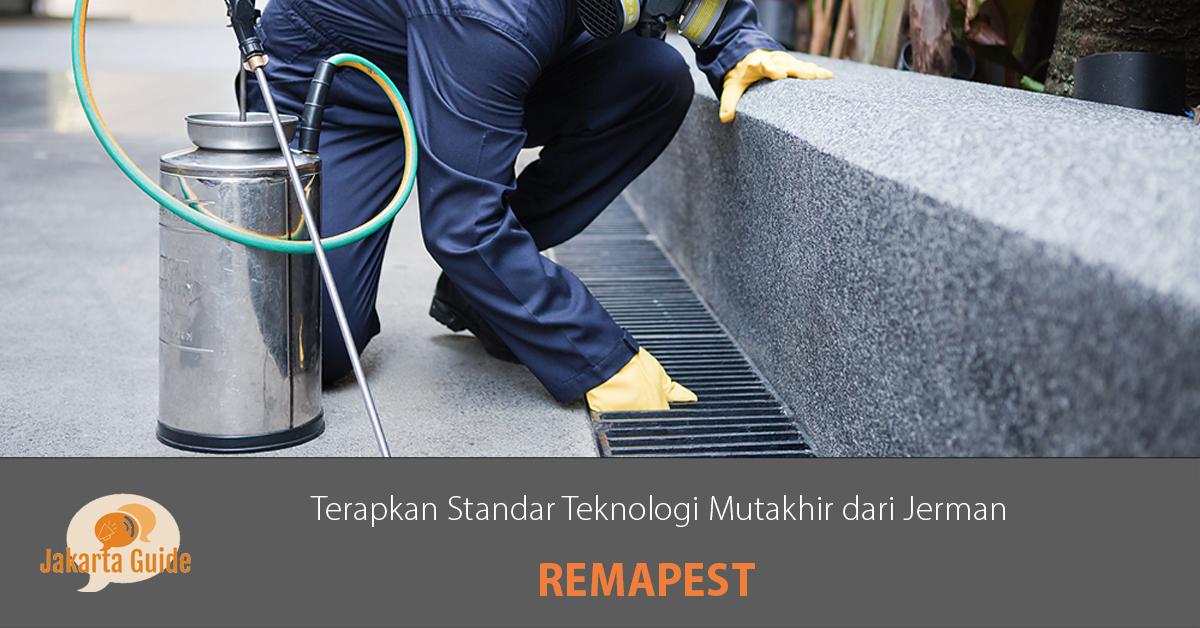 Remapest Pest Control: Terapkan Standar Teknologi Mutakhir dari Jerman