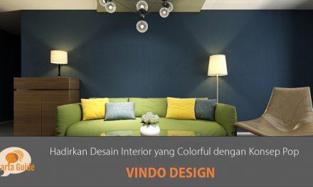 Vindo Design: Hadirkan Desain Interior yang Colorful dengan Konsep Pop
